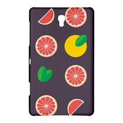 Wild Textures Grapefruits Pattern Lime Orange Samsung Galaxy Tab S (8 4 ) Hardshell Case  by Mariart