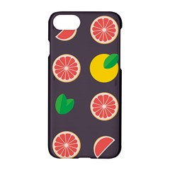 Wild Textures Grapefruits Pattern Lime Orange Apple Iphone 7 Hardshell Case by Mariart