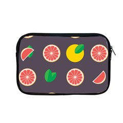 Wild Textures Grapefruits Pattern Lime Orange Apple Macbook Pro 13  Zipper Case by Mariart