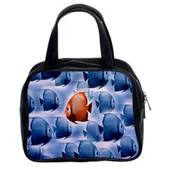 Swim Fish Classic Handbags (2 Sides) by Mariart