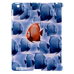 Swim Fish Apple Ipad 3/4 Hardshell Case (compatible With Smart Cover) by Mariart