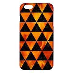 Triangle3 Black Marble & Fire Iphone 6 Plus/6s Plus Tpu Case by trendistuff
