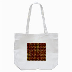 Woven1 Black Marble & Fire Tote Bag (white) by trendistuff