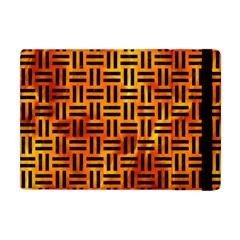 Woven1 Black Marble & Fire (r) Apple Ipad Mini Flip Case by trendistuff