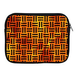 Woven1 Black Marble & Fire (r) Apple Ipad 2/3/4 Zipper Cases by trendistuff