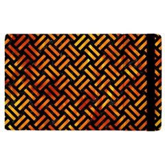 Woven2 Black Marble & Fire Apple Ipad Pro 9 7   Flip Case by trendistuff