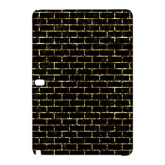 Brick1 Black Marble & Gold Foil Samsung Galaxy Tab Pro 10 1 Hardshell Case by trendistuff