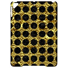 Circles1 Black Marble & Gold Foil (r) Apple Ipad Pro 9 7   Hardshell Case by trendistuff
