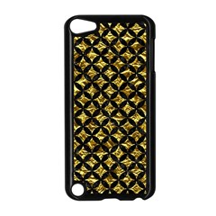 Circles3 Black Marble & Gold Foil (r) Apple Ipod Touch 5 Case (black)