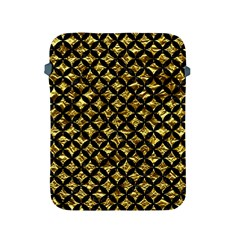 Circles3 Black Marble & Gold Foil (r) Apple Ipad 2/3/4 Protective Soft Cases