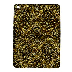 Damask1 Black Marble & Gold Foil (r) Ipad Air 2 Hardshell Cases by trendistuff