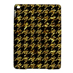 Houndstooth1 Black Marble & Gold Foil Ipad Air 2 Hardshell Cases by trendistuff