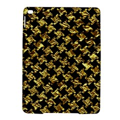Houndstooth2 Black Marble & Gold Foil Ipad Air 2 Hardshell Cases by trendistuff