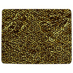 Hexagon1 Black Marble & Gold Foil (r) Jigsaw Puzzle Photo Stand (rectangular) by trendistuff