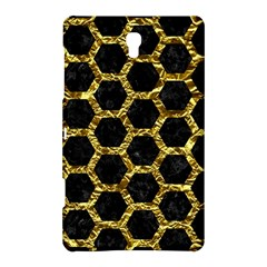 Hexagon2 Black Marble & Gold Foil Samsung Galaxy Tab S (8 4 ) Hardshell Case  by trendistuff