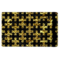 Puzzle1 Black Marble & Gold Foil Apple Ipad 2 Flip Case by trendistuff