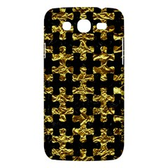 Puzzle1 Black Marble & Gold Foil Samsung Galaxy Mega 5 8 I9152 Hardshell Case  by trendistuff