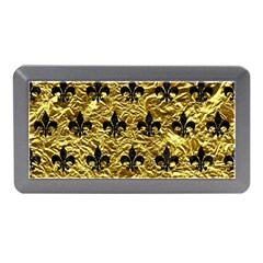 Royal1 Black Marble & Gold Foil Memory Card Reader (mini) by trendistuff