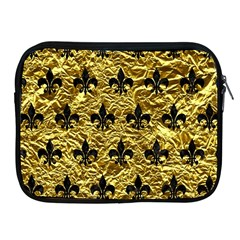 Royal1 Black Marble & Gold Foil Apple Ipad 2/3/4 Zipper Cases by trendistuff