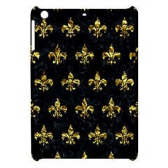 Royal1 Black Marble & Gold Foil (r) Apple Ipad Mini Hardshell Case by trendistuff