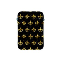 Royal1 Black Marble & Gold Foil (r) Apple Ipad Mini Protective Soft Cases by trendistuff
