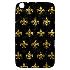 Royal1 Black Marble & Gold Foil (r) Samsung Galaxy Tab 3 (8 ) T3100 Hardshell Case