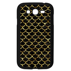 Scales1 Black Marble & Gold Foil Samsung Galaxy Grand Duos I9082 Case (black) by trendistuff