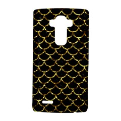 Scales1 Black Marble & Gold Foil Lg G4 Hardshell Case by trendistuff
