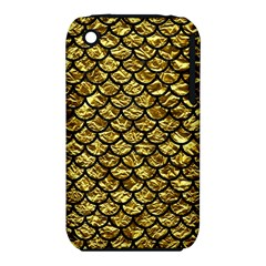 Scales1 Black Marble & Gold Foil (r) Iphone 3s/3gs by trendistuff