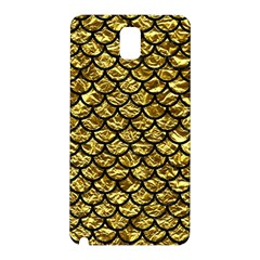 Scales1 Black Marble & Gold Foil (r) Samsung Galaxy Note 3 N9005 Hardshell Back Case by trendistuff