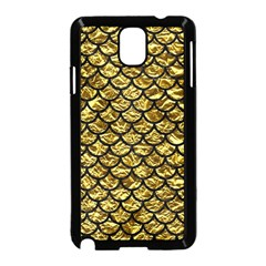 Scales1 Black Marble & Gold Foil (r) Samsung Galaxy Note 3 Neo Hardshell Case (black) by trendistuff