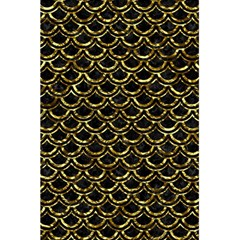 Scales2 Black Marble & Gold Foil 5 5  X 8 5  Notebooks by trendistuff