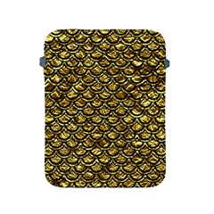 Scales2 Black Marble & Gold Foil (r) Apple Ipad 2/3/4 Protective Soft Cases by trendistuff