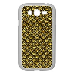 Scales2 Black Marble & Gold Foil (r) Samsung Galaxy Grand Duos I9082 Case (white)