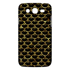 Scales3 Black Marble & Gold Foil Samsung Galaxy Mega 5 8 I9152 Hardshell Case  by trendistuff