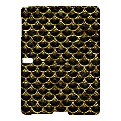 Scales3 Black Marble & Gold Foil Samsung Galaxy Tab S (10 5 ) Hardshell Case  by trendistuff