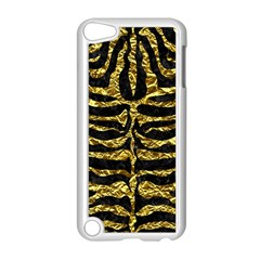 Skin2 Black Marble & Gold Foil Apple Ipod Touch 5 Case (white) by trendistuff