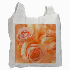 Flower Power, Wonderful Roses, Vintage Design Recycle Bag (one Side) by FantasyWorld7