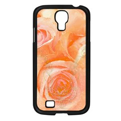 Flower Power, Wonderful Roses, Vintage Design Samsung Galaxy S4 I9500/ I9505 Case (black) by FantasyWorld7