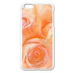 Flower Power, Wonderful Roses, Vintage Design Apple Iphone 6 Plus/6s Plus Enamel White Case by FantasyWorld7