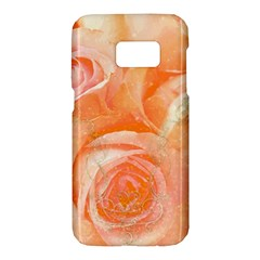 Flower Power, Wonderful Roses, Vintage Design Samsung Galaxy S7 Hardshell Case  by FantasyWorld7