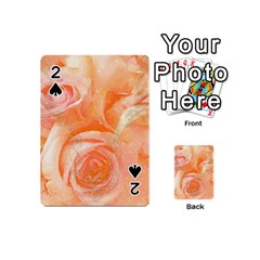 Flower Power, Wonderful Roses, Vintage Design Playing Cards 54 (mini)  by FantasyWorld7