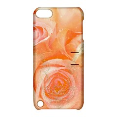 Flower Power, Wonderful Roses, Vintage Design Apple Ipod Touch 5 Hardshell Case With Stand by FantasyWorld7