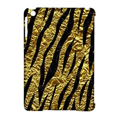 Skin3 Black Marble & Gold Foil (r) Apple Ipad Mini Hardshell Case (compatible With Smart Cover) by trendistuff