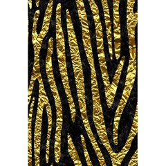 Skin4 Black Marble & Gold Foil (r) 5 5  X 8 5  Notebooks by trendistuff