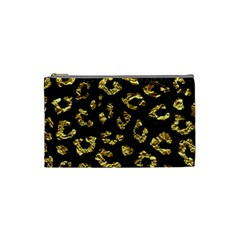 Skin5 Black Marble & Gold Foil (r)skin5 Black Marble & Gold Foil (r) Cosmetic Bag (small)  by trendistuff