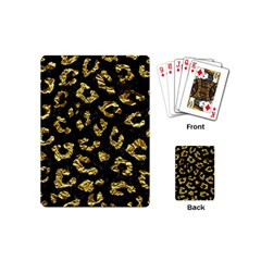 Skin5 Black Marble & Gold Foil (r)skin5 Black Marble & Gold Foil (r) Playing Cards (mini)  by trendistuff