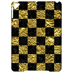 Square1 Black Marble & Gold Foil Apple Ipad Pro 9 7   Hardshell Case by trendistuff