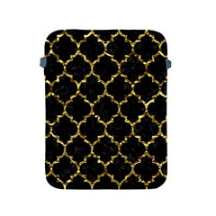 Tile1 Black Marble & Gold Foil Apple Ipad 2/3/4 Protective Soft Cases by trendistuff