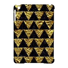 Triangle2 Black Marble & Gold Foil Apple Ipad Mini Hardshell Case (compatible With Smart Cover) by trendistuff